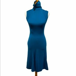 Diane Von Furstenberg Sleeveless Turtleneck Dress